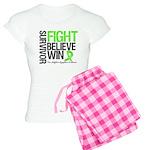 NonHodgkinsFightWin Women's Light Pajamas