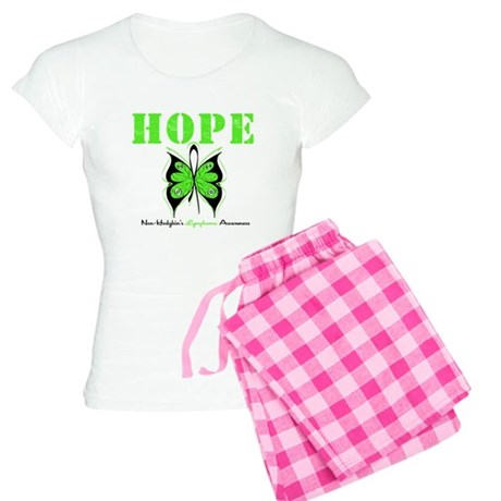 NonHodgkinsHopeButterfly Women's Light Pajamas