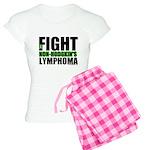 Fight Non-Hodgkin's Women's Light Pajamas