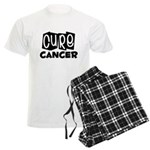 Cure Cancer Men's Light Pajamas