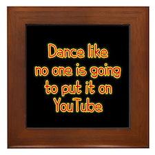 YouTube Dance Framed Tile