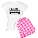 Kicked Cancer's Ass Women's Light Pajamas