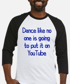 YouTube Dance Baseball Jersey