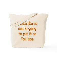 YouTube Dance Tote Bag