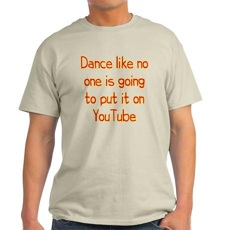 YouTube Dance Light T-Shirt