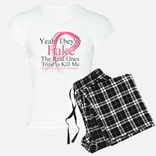 Fake 2 - Breast Cancer Pajamas