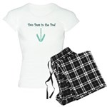 Two Peas in the Pod (twins) Women's Light Pajamas
