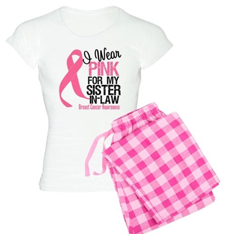 I Wear Pink Sister-in-Law Women's Light Pajamas