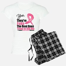 Yes, They're Fake Breast Canc Pajamas