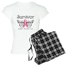 Survivor Deco Breast Cancer Pajamas
