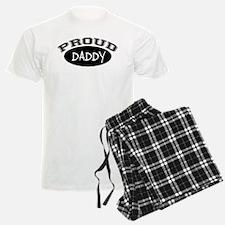 Proud Daddy (black) Pajamas