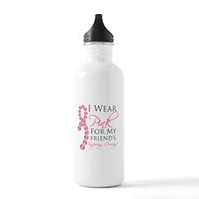Friend - Breast Cancer Water Bottle