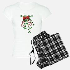 Kiss Me! Mistletoe Pajamas