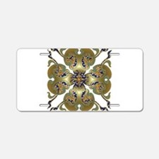 Kimono Bells Aluminum License Plate