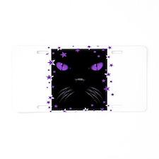 Boo - Amethyst Aluminum License Plate