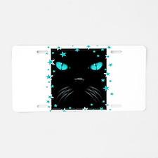Boo - Aquamarine Aluminum License Plate