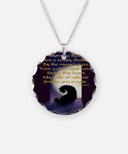 Ode to a Black Cat Necklace