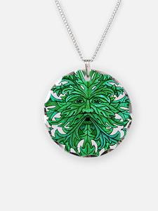 Green Man Gaze Necklace