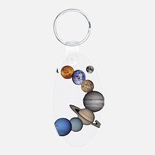 Planet Swirl Keychains
