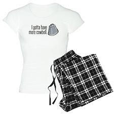 More Cowbell! Pajamas