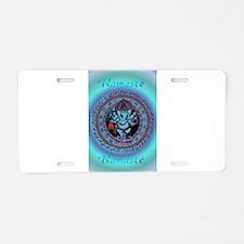 Ganesh Dancer Aluminum License Plate
