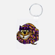 Golden Cheshire Cat Keychains