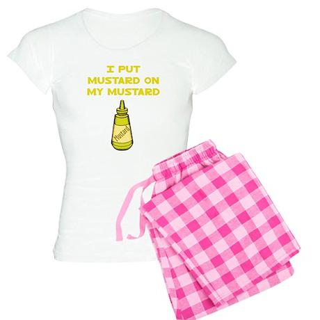 I Put Mustard on My Mustard Women's Light Pajamas