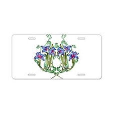 Bouquet Diana Aluminum License Plate