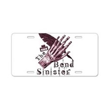 Bend Sinister Aluminum License Plate