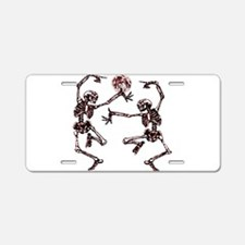 Danse Macabre Aluminum License Plate