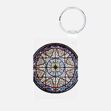 Gothic Window Keychains