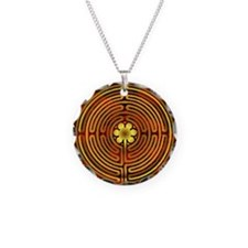 Chartres Labyrinth Fire Necklace