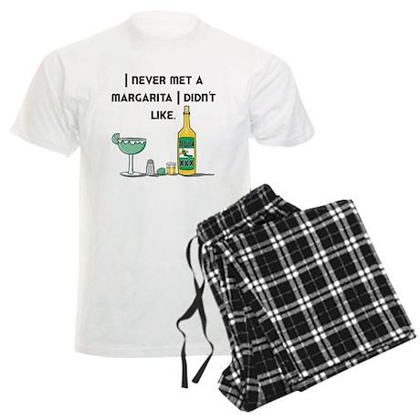 I Like Margaritas Men's Light Pajamas