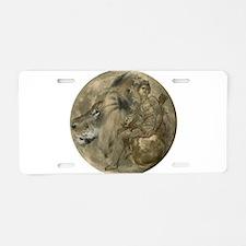 Hunter's Moon Aluminum License Plate