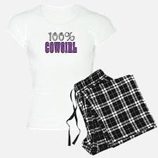 100% Cowgirl Pajamas