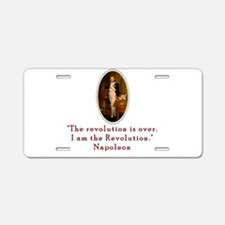 Napoleon Revolution Aluminum License Plate