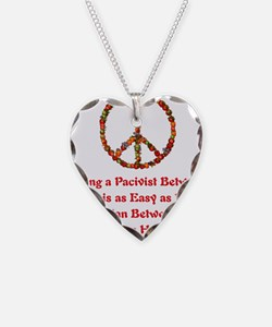 Pacifist Quote Necklace