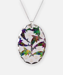 Dolphin Peace Group Necklace