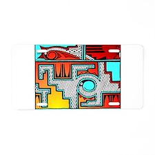 Pueblo Home Aluminum License Plate