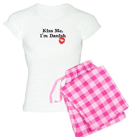 Kiss Me, I'm Danish Women's Light Pajamas
