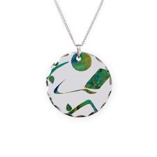 Green Reader Necklace