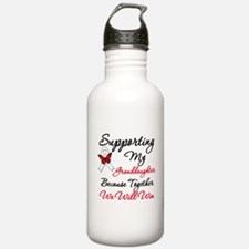 Lung Cancer Support Water Bottle