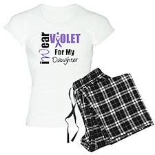 I Wear Violet Ribbon Pajamas
