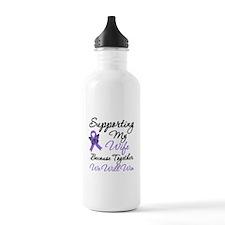 Hodgkin's Support Wife Water Bottle