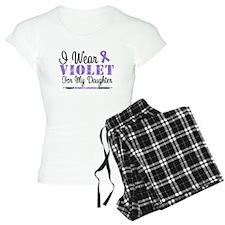 I Wear Violet Ribbon Shirts Pajamas