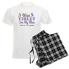 I Wear Violet For My Mom Pajamas