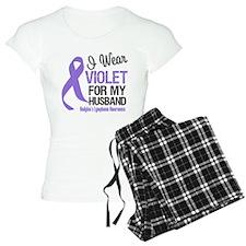 I Wear Violet For Husband Pajamas