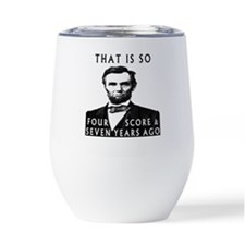 I Wear Violet For Husband Thermos® Can Cooler
