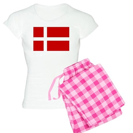 Danish Flag Women's Light Pajamas
