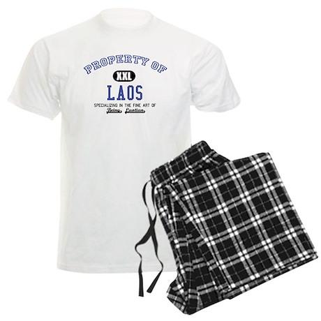 Property of Laos Men's Light Pajamas